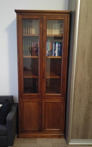 Knihovna vysoká prosklenná art.F329