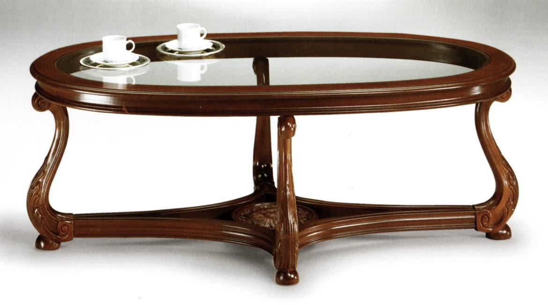 1746 konferenční stůl se sklem