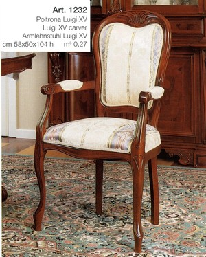 Polstrovaná židle art.SE2632