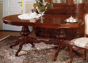Oválný stůl rozkl.zámeckého stylu art.SE2634