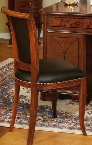 Elegantní židle Palladio art.SE1402-v kůži