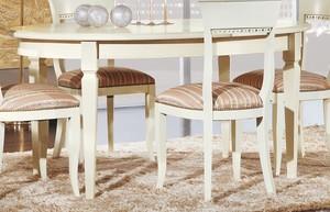 Klasický jídelní stůl art.M313-LBA oválný