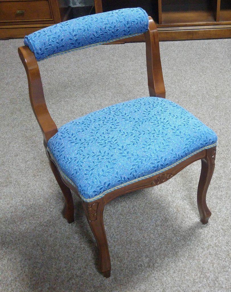 taburet s op.modrý