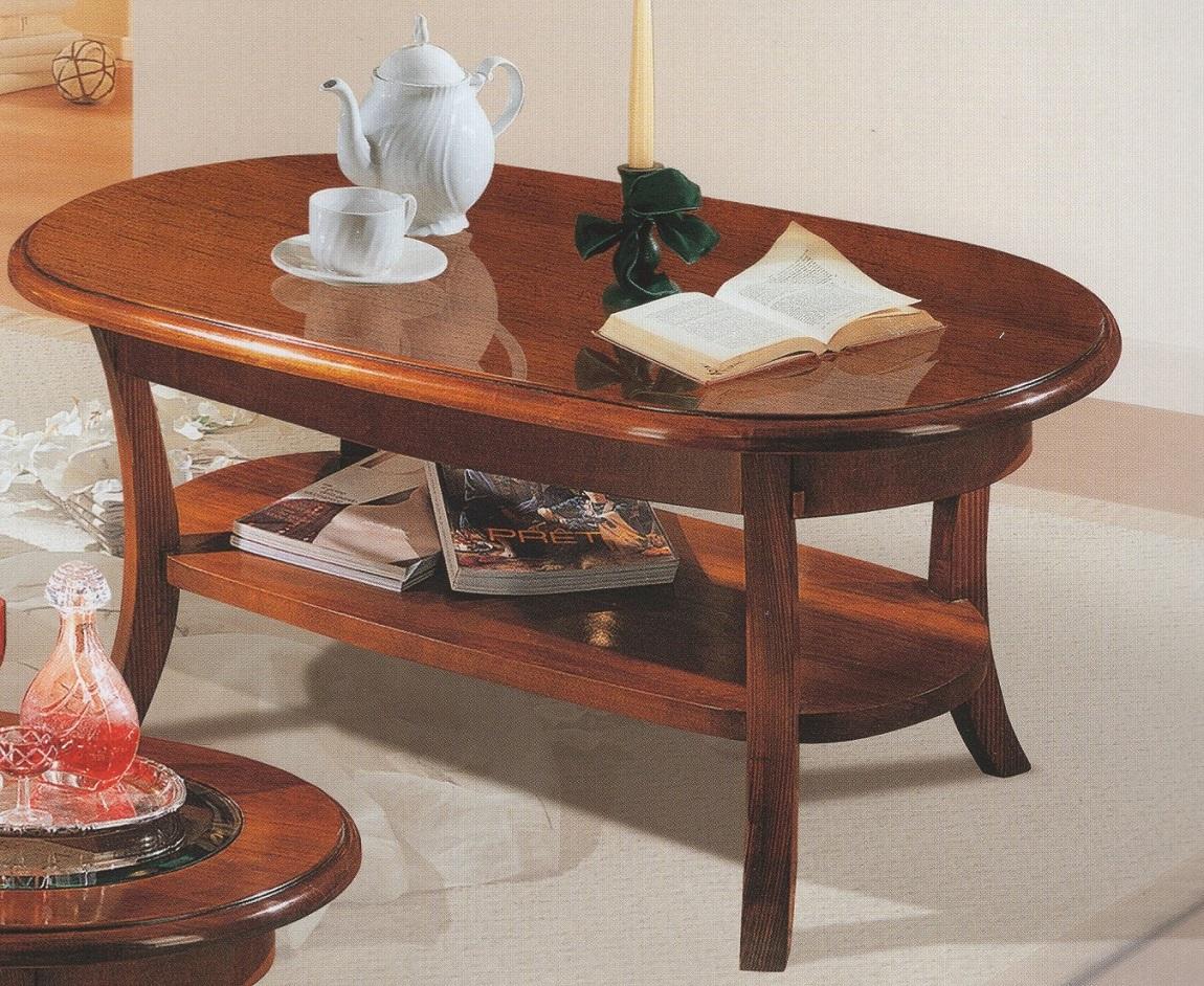 konferenční stolek oválný art.T634