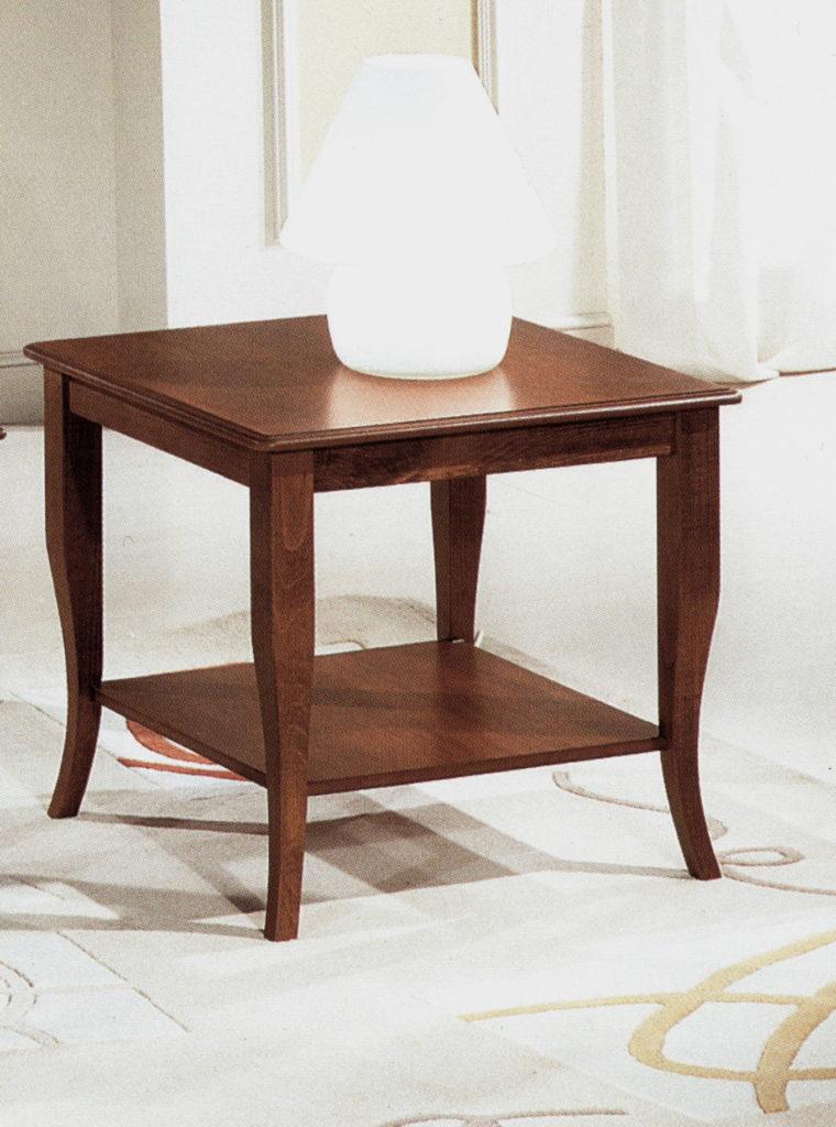 čtvercový kávový stolek